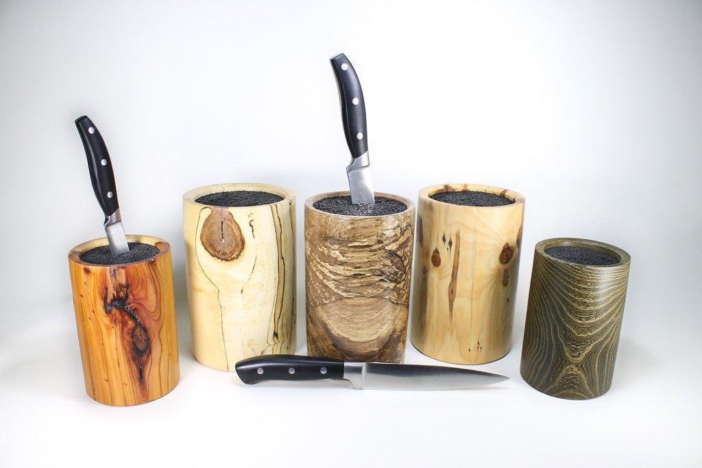 verschiedene Messerblöcke