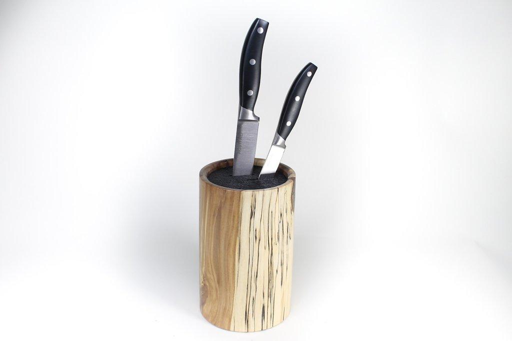 Messerblock mit Kunststoffeinsatz